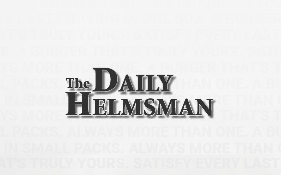 the daily helsman black and white logo