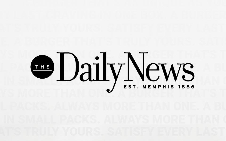 the daily news memphis black and white logo