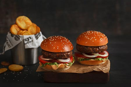 Burgerim has arrived in Victorville, California. Join us to customize a set of gourmet mini burgers.